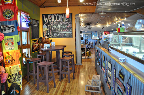 Ice Cream Counter at CG Hooks Eatery ~ White Bear Lake, MN