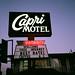 Capri Motel,Santa cruz 2010 by Edson Wayward Gallery