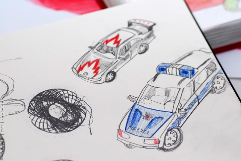 """""""Ma-ma, you can draw me a car?"""""""