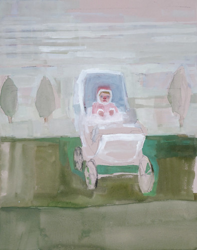 "Jennie Ottinger ""Bebe in Her Carriage"""
