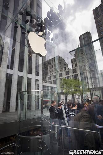 Smoke Trails at Apple