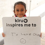 KLRU inspires me to... learn good.