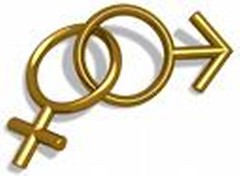 Gender symbols communication
