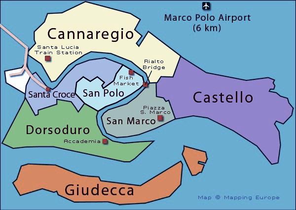 giudecca island venice map - photo#2