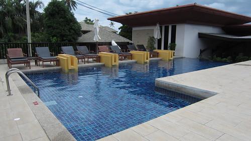 Koh Samui Kandaburi Resort hillside pool サムイ島カンダブリリゾート (13)