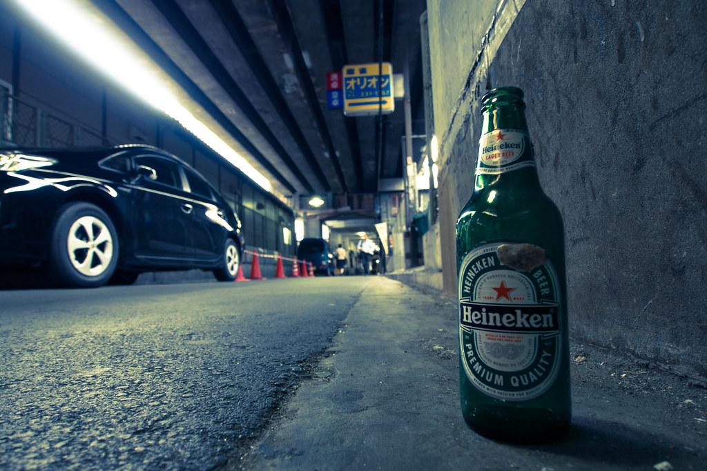 Heinekenのボトル 2012/06/06 OMD61107