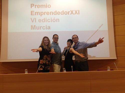 Premio EmprendedorXX VI edición Murcia