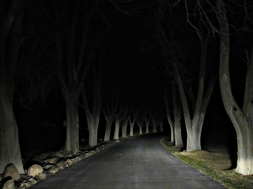 cemetery night dark scary colorado mesa montrosecolorado