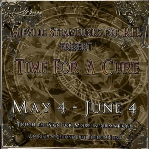 Time For A Cure Hunt by Cherokeeh Asteria