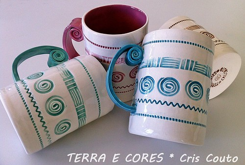 Canecas Caracol by cris couto 73