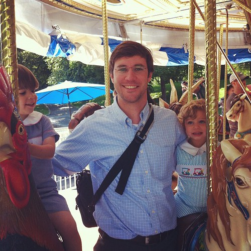 1st Carousel ride of the season