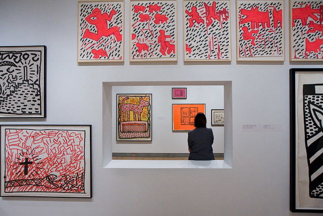Keith Haring, Brooklyn Museum