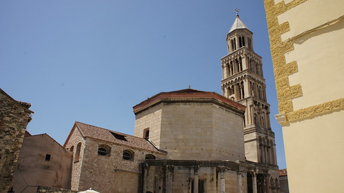 Mausoleum / Cathedral, Diocletian's Palace, Split, Croatia