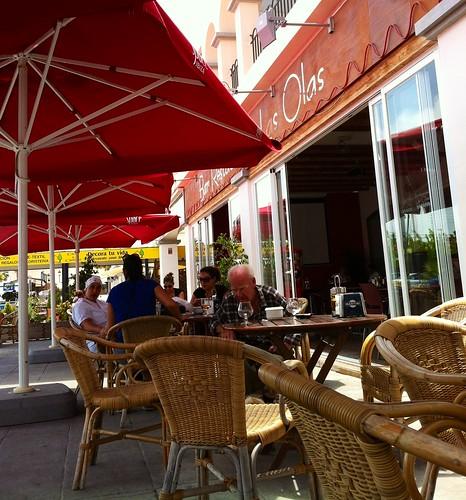 Sant Jordi de ses Salines, Ibiza | Bar Restaurante Las Olas | Terraza
