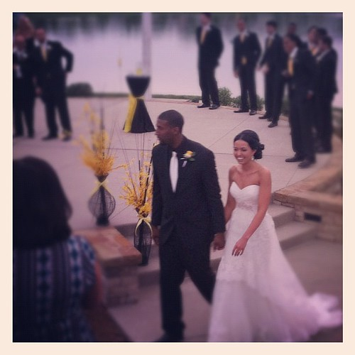 Mr. And Mrs. Quinton West!!! @kelseyraes