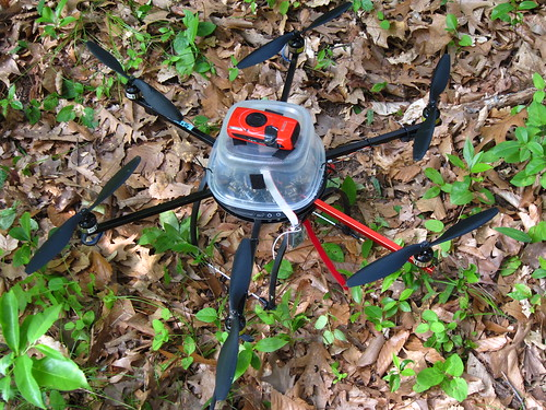 Ecosynth Hexacopter with Canon SD4000 IS