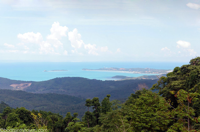 View out over Koh samui