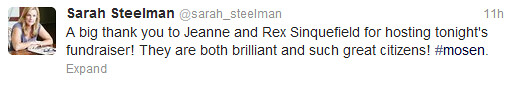 Sarah Steelman hearts Rex Sinquefield