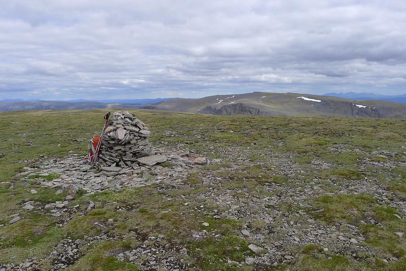 Summit of Geal-Chàrn