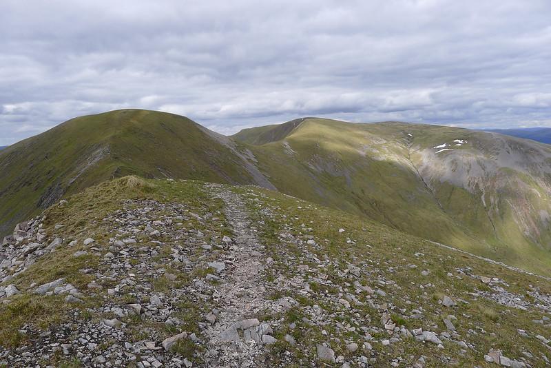 Aonach Beag and Gael-Chàrn