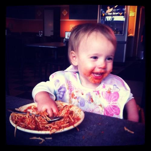 someone loves spaghetti