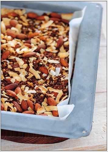 lentil granola