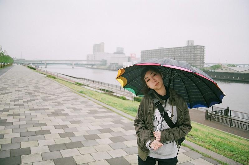 雨の日、撮られるのイヤ
