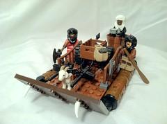 War Goat Amphibious Landing Craft by D-Town Cracka