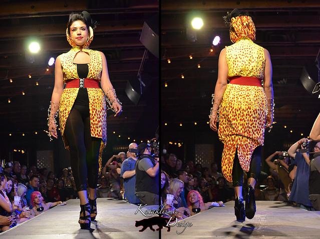 Eyes of Ra - Madame Trapeze Fashion Show 05-12-12