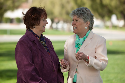Julia Brownley and Ventura County Supervisor Kathy Long