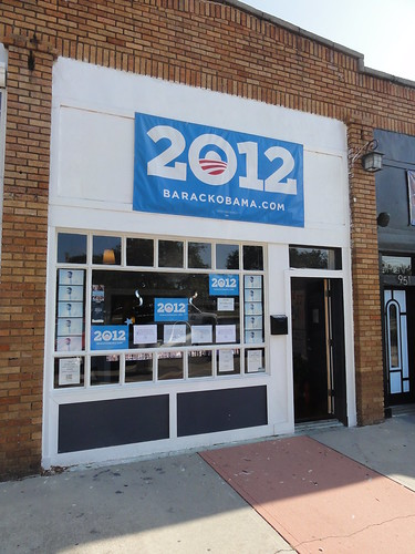 Obama Campaign Office in Saint Petersburg, FL