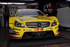 David Coulthard - DTM Mercedes.