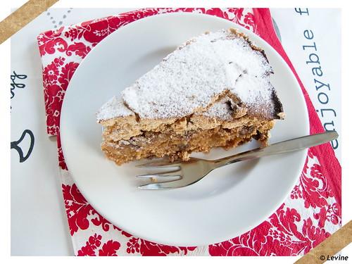 Appelkruidcake met meringue