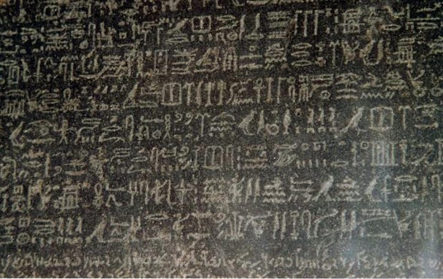 Rosetta Stone inscriptions, British Museum