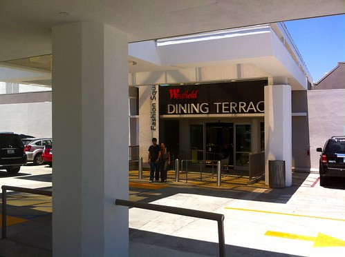New Dining Terrace at Sherman Oaks Fashion Square