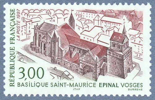 Basilique Saint-Maurice . Epinal