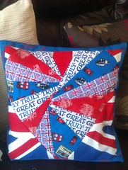 London Heart cushion