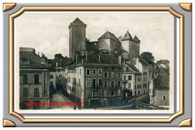 ANNECY Vue sur le Chateau-70-150