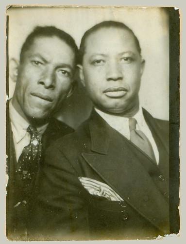 Photobooth two men