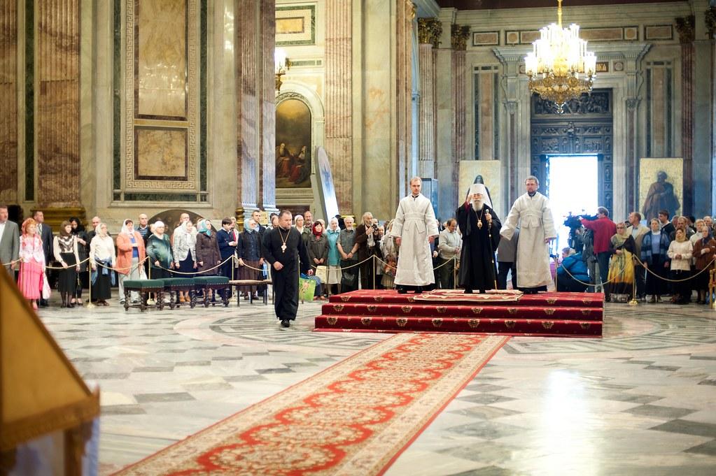 Встреча митрополита Владимира