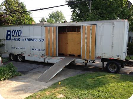 Boyd moving