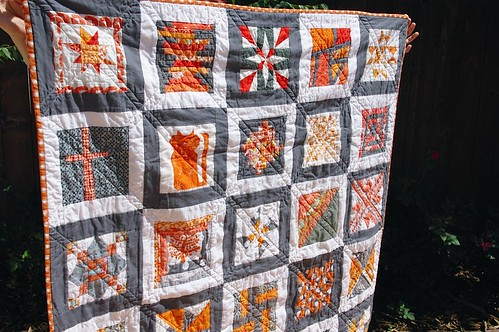 Row Robin Quilt - FINISHED!