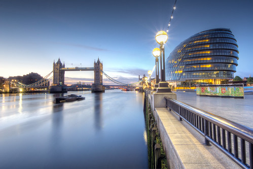 city uk london towerbridge sunrise hall riverthames hdr andrewthomas