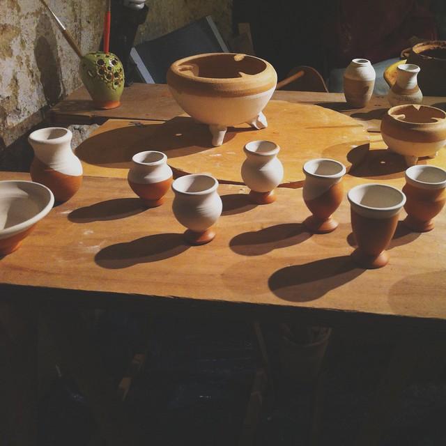 ceramic at the ceramic museum