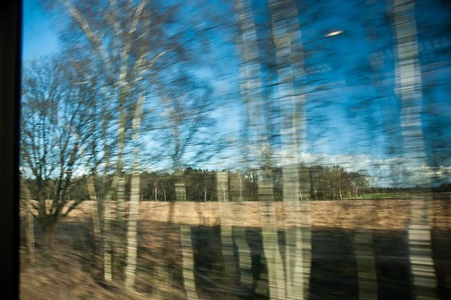 Train window by radzfoto