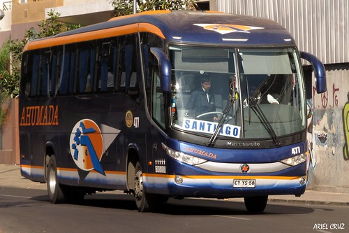 Buses Ahumada | Marcopolo Viaggio 1050 / CYYS58