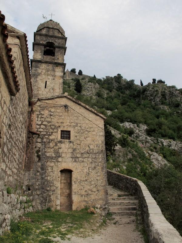 Balade dans la forteresse@Kotor