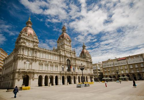 Plaza María Pita by treboada