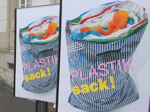 Oh, Plastiksack! Ausstellung im Gewerbemuseum Winterthur