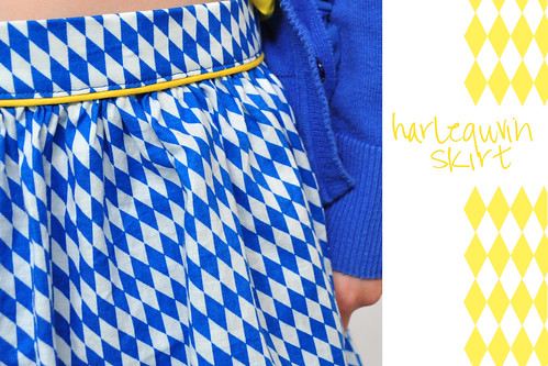 harlequin skirt